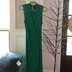 Banana Republic green dress size Med